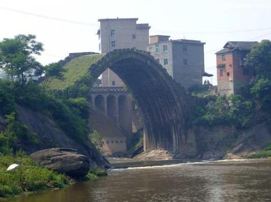 达州风景之达县高拱桥高清图片