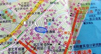 吉庆街位于湖北省武汉市江岸区