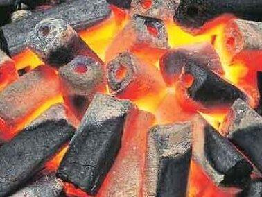 木炭点燃步骤图