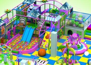 同样是儿童室内游乐场