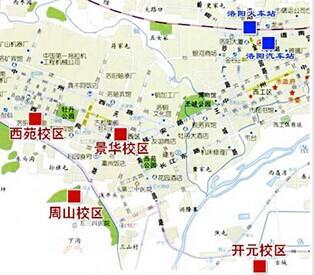 河南科技大学校区分布