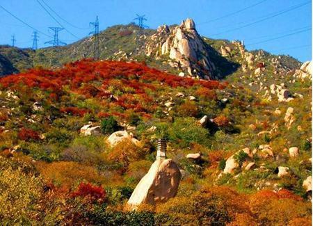 北京凤凰岭自然风景区位于海淀区聂各庄乡境内,距天安门33公里,总面积