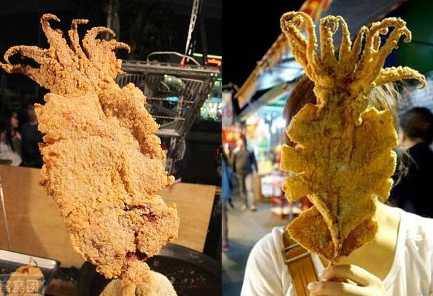 鱿鱼的身体结构