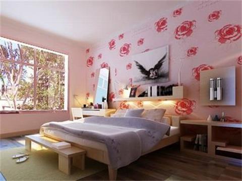 婚房卧室布置效果图