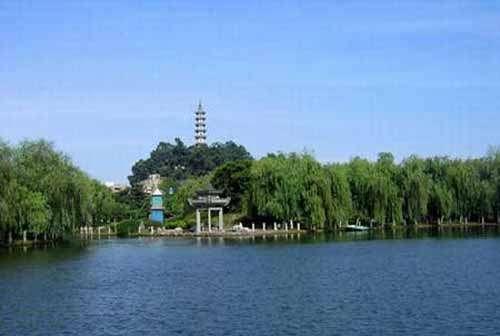 马鞍池公园平面图