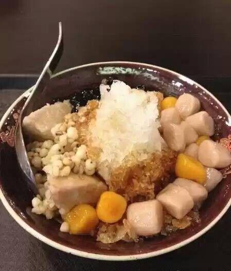 鲜芋仙纯手感制作出香q的芋圆甜品