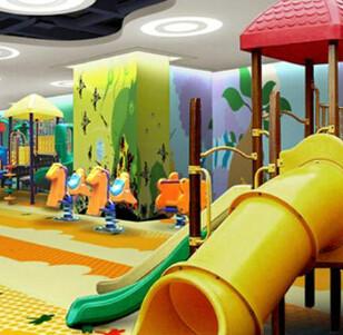 贝儿健儿童乐园 室内乐园的新航标