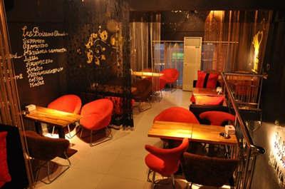 咖啡店装修设计之西式工业风格