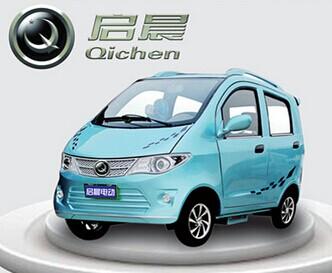 启晨四轮电动车 拥有多项专利及专有技术