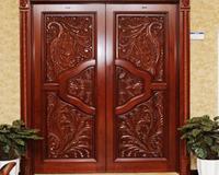 中式实木雕花门好吗?值得信赖图片