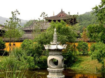 灵隐寺是中国佛教著名寺院