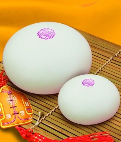 日本女馒头比图_青岛崂山王哥庄花样大馒头你吃过吗