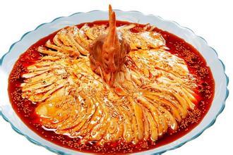 新派川菜凉菜图片 之四川棒棒鸡