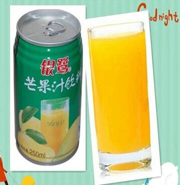 罐装银鹭芒果汁过期五个月了还能喝吗