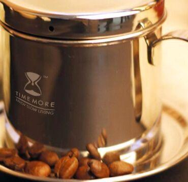 使用越南滴漏式咖啡壶