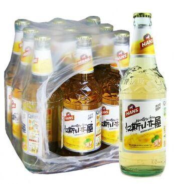 汉斯小木屋(果啤)508ml由青岛啤酒西安汉斯集团经营