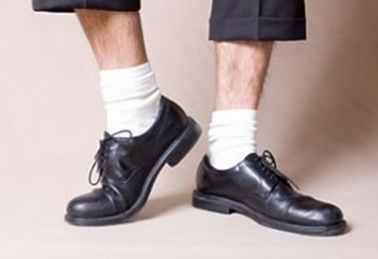 皮鞋搭配什么袜子