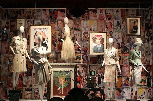 最具创意的服装橱窗设计欣赏