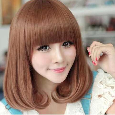 小脸适合什么发型 梨花头或短发