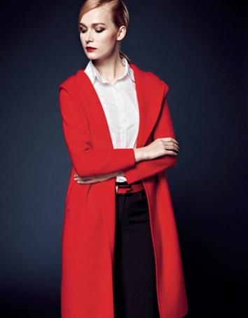 秋季外套搭配技巧  中长外套如何搭配更时尚