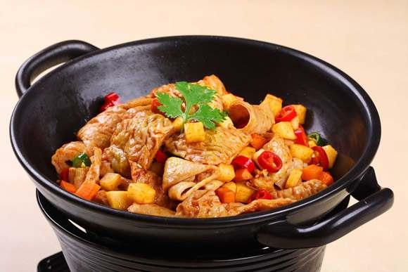 嘶哈味麻辣香锅 超越传统美味高清图片