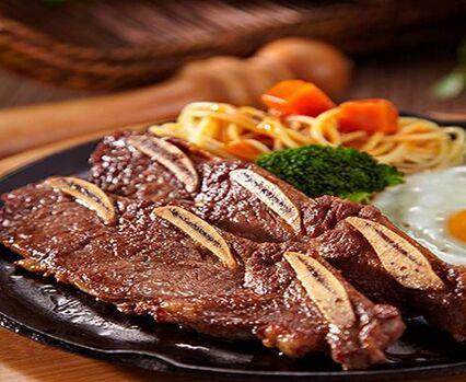 豪佳客牛排西餐把西式牛排融入中国特