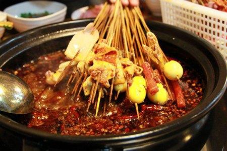 巴山味庄砂锅串串