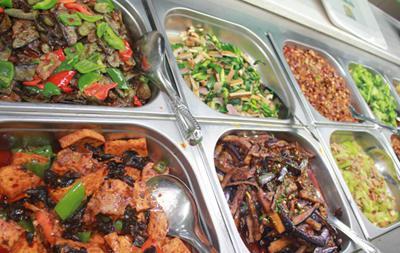 中式快餐菜谱