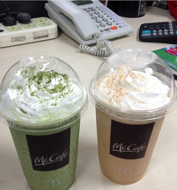 麦当劳mccafe麦咖啡菜单,麦当劳热饮料菜单,麦当劳东方全叶立体茶包