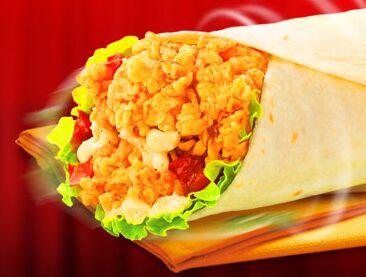 中西式快餐什么品牌?麦劲堡受欢迎图片