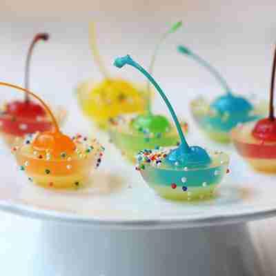 妙言果冻冰淇淋 造型很多样图片