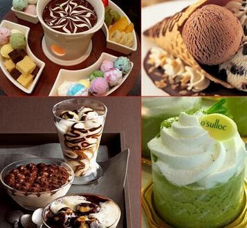 做出的冰淇淋不仅美味口味多,而且打消了消费者想吃冰淇淋但怕长胖的