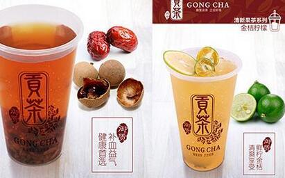 御质贡茶茶饮通过结合现代工艺和食材,演变成更适合现代人饮用的产品