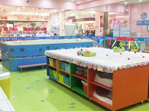 海乐游婴儿游泳馆经过长期自主研发,设计的数控系统,净水系统等效果