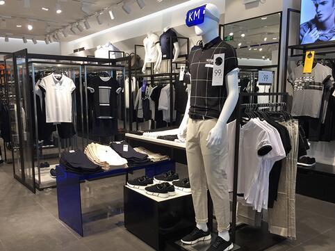 开一家km男装店需要多少钱?门面多大?