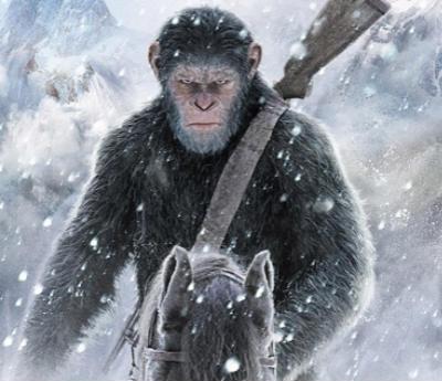 《猩球崛起3》最虐心的大猩猩又来了