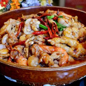 蟹控肉蟹煲