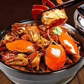 蟹煲快餐多少钱