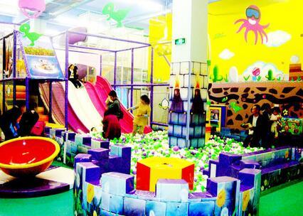 华麦儿童乐园加盟