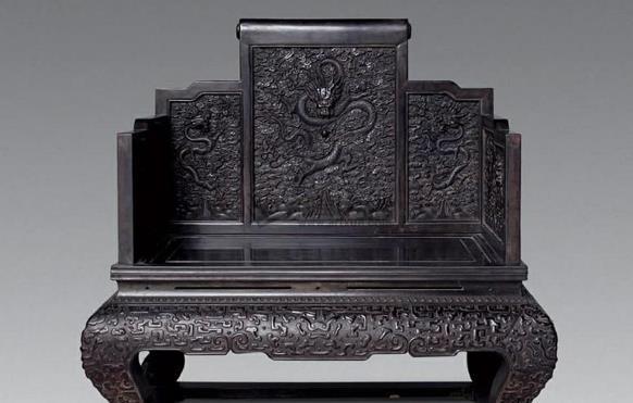 清代古典家具上的龙纹饰分类