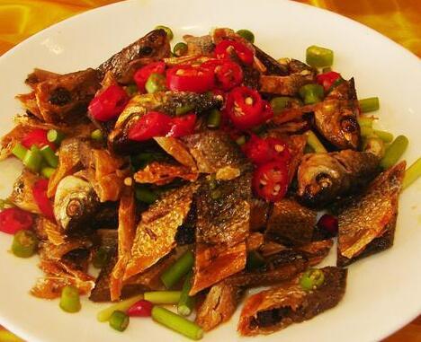 江西美食小吃:江西小炒鱼简单做法!
