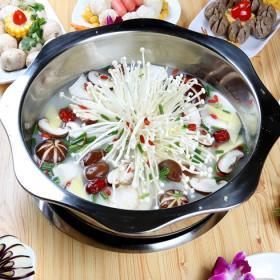 涮捞煮义火锅