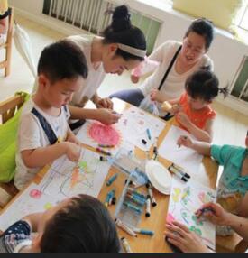 东方童画少儿美术教育