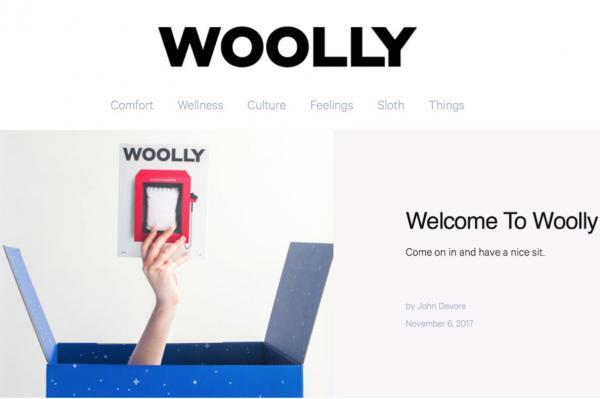 Casper 推出纸质生活方式杂志《Wolly》