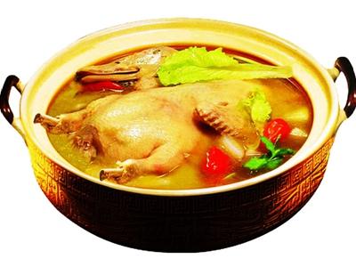 雀田鹅王汤的制作方法关键之处