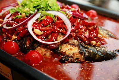 川味烤鱼 鱼火火有料好吃