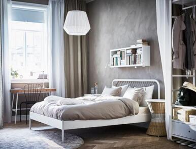 背景墙 床 房间 家居 家具 设计 卧室 卧室装修 现代 装修 386_295