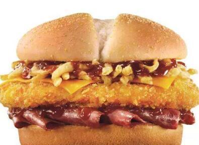 皇炸炸鸡汉堡