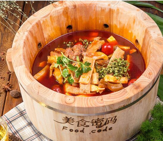 木桶喷泉火锅加盟代理 美食密码值得选择