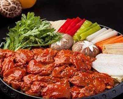 开家谷喜农韩国料理店总投资要多少钱